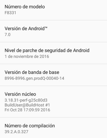 Sony Xperia Xz Android Nougat 2