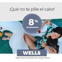 Cupón de descuento del 8% en Wellindal sin compra mínima en su sección de jardín