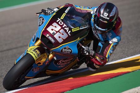 Sam Lowes completa su triplete de victorias para ponerse líder del mundial de Moto2