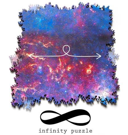 Alguien tuvo la increíble y masoquista idea de crear un rompecabezas infinito, sí, sin principio ni final