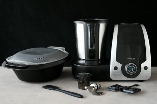 Cecotec Mambo Silver, análisis: un robot de cocina multifunción pequeño (en precio), pero matón