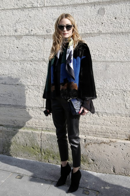 Olivia Palermo En El Desfile De Elie Saab