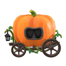 Animal Crossing New Horizons Guide Pumpkins Item Diy Icon Spooky Carriage