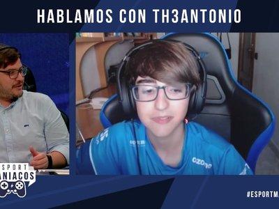 """Th3Antonio: """"Perfectamente podría estar jugando yo en Challenger Series"""""""