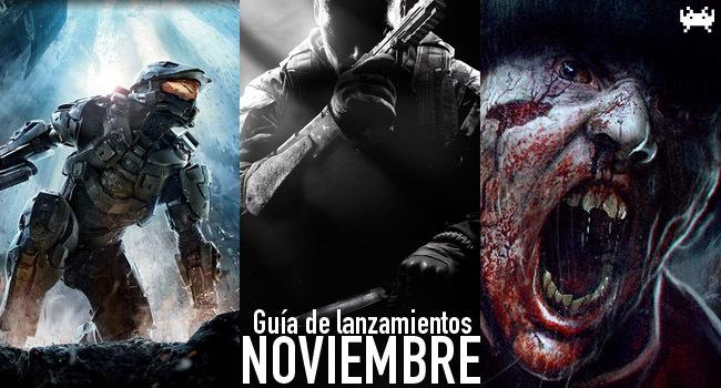 Guía de lanzamientos: noviembre de 2012