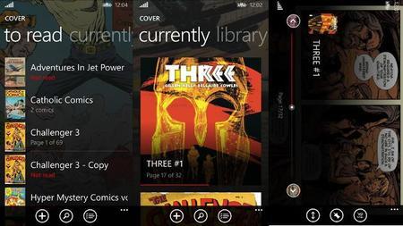 Cover, lee tus comics ahora también en Windows Phone 8.1. La aplicación de la semana