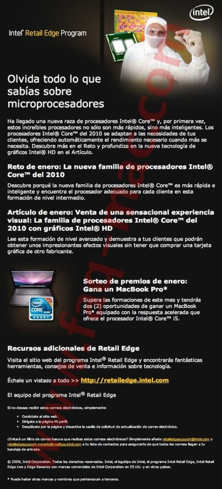 intel promoción core i5 macbook pro