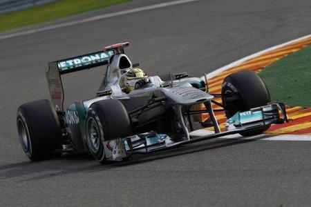 GP de Bélgica de F1 2011: la increíble primera vuelta de Michael Schumacher
