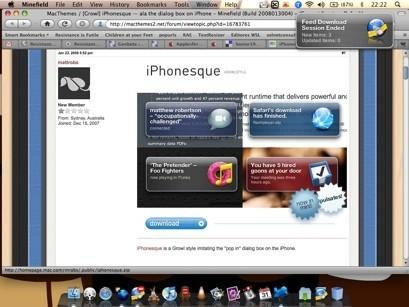 iPhonesque, un nuevo y logrado estilo para Growl