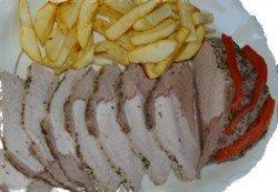 Lomo de cerdo a la sal, versátil