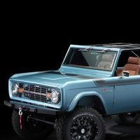Cuatro puertas y tecnología moderna para este Ford Bronco de 1966, restaurado artesanalmente