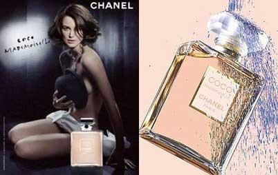 Keira Knightley en los anuncios de Coco Mademoiselle