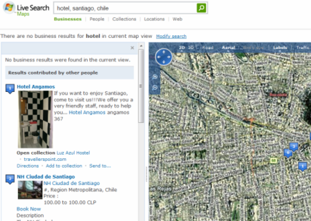 Live Search Maps Social