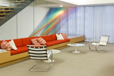 Extructuras Plexus de Gabriel Dawe: la fascinación por el cielo y sus sutiles escalas de color
