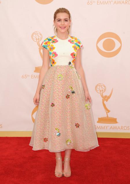 Kiernan Shipka sandalias Emmy 2013