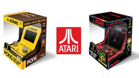 Ya disponibles las nuevas consolas retro de Atari: dos máquinas arcade y una portátil llenas de clásicos
