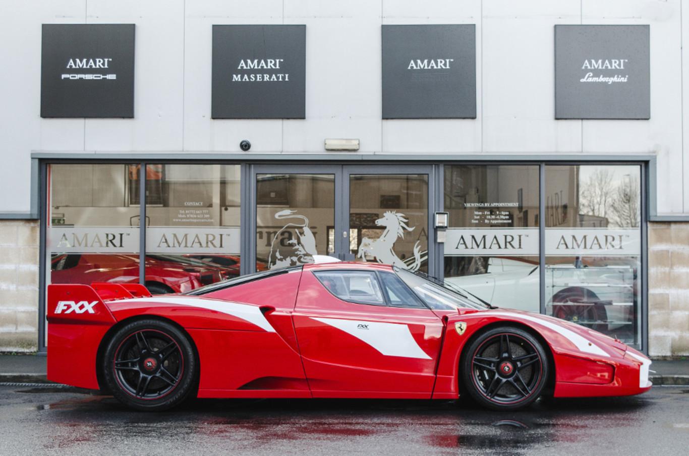 Ferrari Fxx Evoluzione Stradale Una Rareza Con La Que Puedes Rodar Por Carretera Abierta Y Esta A La Venta