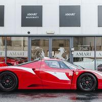 Ferrari FXX Evoluzione Stradale, una rareza con la que puedes rodar por carretera abierta, ¡y está a la venta!