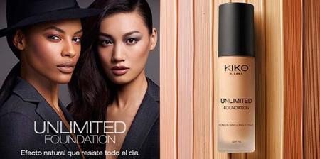 Unlimited Foundation, la nueva base de Kiko que promete larga durabilidad y acabado perfecto
