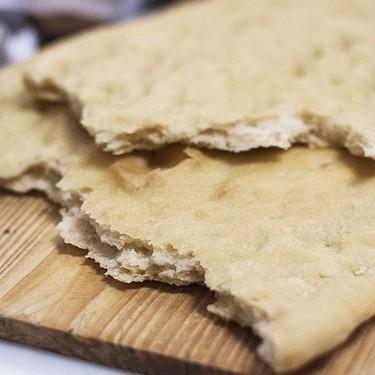 Pan de cañada o pan plano con aceite: receta con Thermomix
