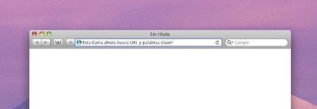 Cómo combinar la barra de direcciones y de búsquedas en Safari 5 (por fin)
