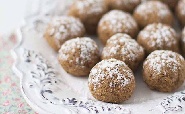 Bolitas dulces de pulpa de chufa: receta fácil de aprovechamiento