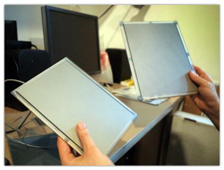 Touchco, pantallas táctiles resistivas y capacitivas a la vez