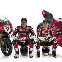 Álvaro Bautista, Chaz Davies y la Ducati Panigale V4 R estrenan sus colores para el WSBK 2019