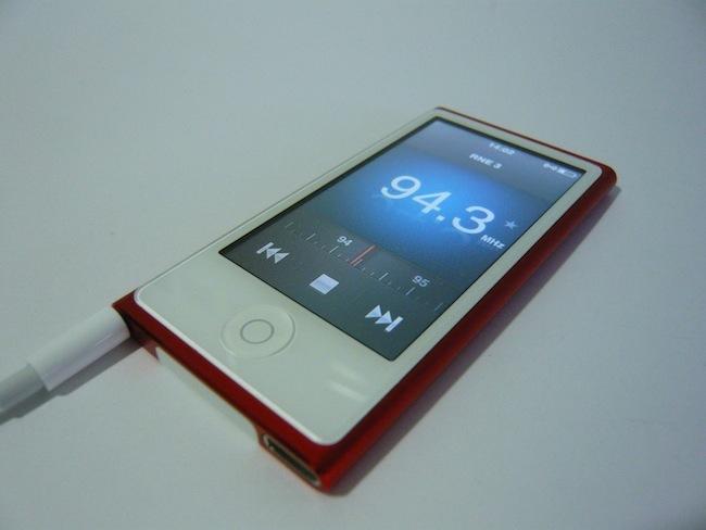 iPod nano 2012 radio FM