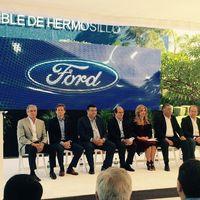Ford celebra 30 años de su planta de Hermosillo donde se fabrican dos autos híbridos