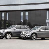 Los Mercedes-Benz GLE de y GLC 300 e estrenan versiones híbridas enchufables para sus motores diésel y gasolina
