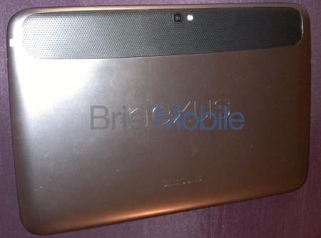 Nexus 10 tapa trasera
