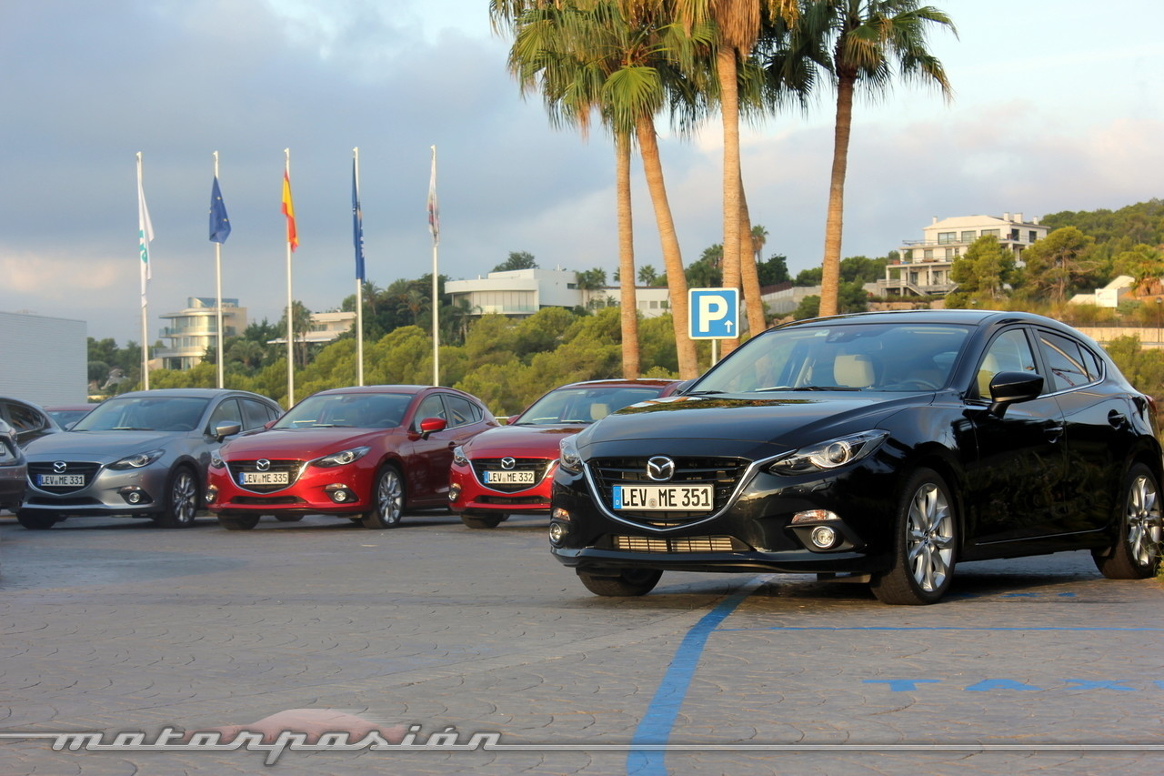 Mazda3 2013, presentación y prueba