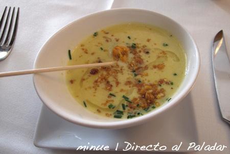 restaurante delicat - sopa de maíz