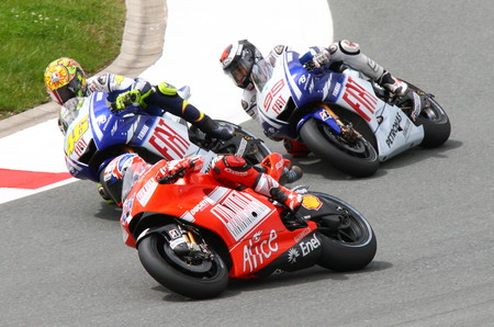 Rossi Lorenzo Stoner Motogp 2009