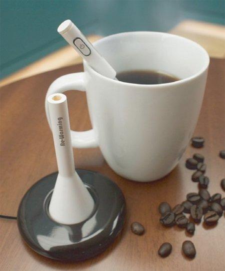 Calentador de café portatil