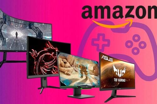 Estos 12 monitores gaming de gama alta de ASUS, Samsung, MSI y HP se pueden encontrar superrebajados esta semana en Amazon