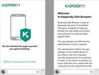 Kaspersky Safe Browser, un navegador web seguro para Windows Phone 8