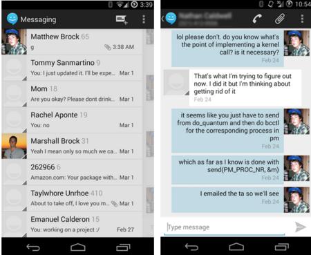 Sliding SMS, el cliente de mensajes de CyanogenMod disponible para todos