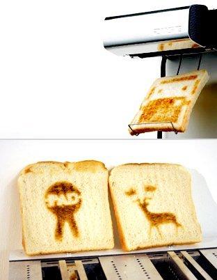 Impresora de tostadas