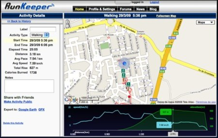 RunKeeper, la alternativa a Nike+ para el iPhone