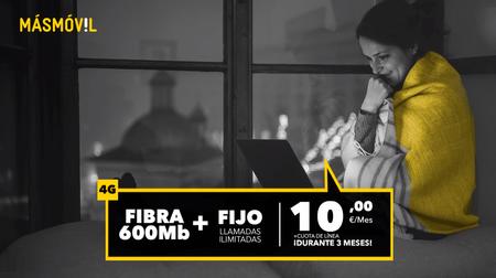 MásMóvil elimina la permanencia en su servicio de sólo fibra