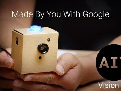 Google AIY Projects: una app que convierte cartón en cámaras y altavoces inteligentes