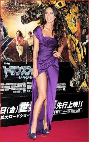 Megan Fox deslumbra en la premiere de Transformers 2 en Tokio