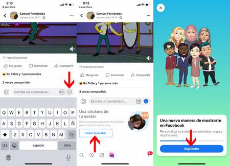 Cómo crear un avatar personalizado de Facebook en iOS y Android