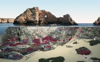 Representaciones visuales de sitios de buceo