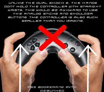 Instrucciones del mando de PS3