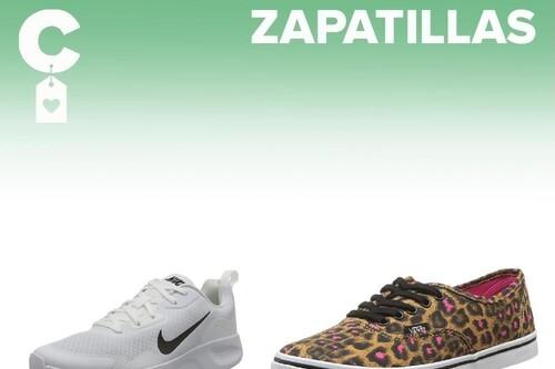 Chollos en tallas sueltas de zapatillas Fila, Nike, Vans o New Balance en Amazon
