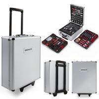 Por sólo 79 euros tenemos una maleta con 416 herramientas  Greencut en Ebay. El envío es gratis