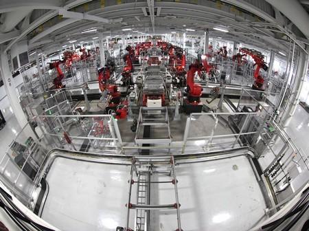 Fabricación Tesla Model S